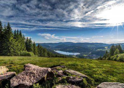 Titisee vom Hochfirst © Hochschwarzwald Tourismus GmbH